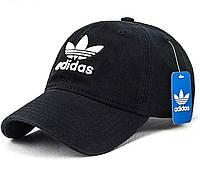 Кепка Adidas   бейсболка адидас  мужская / женская.  Цвет черный