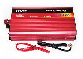 Інвертор перетворювач AC/DC UKC 24v-220v 3000W з функцією плавного пуску