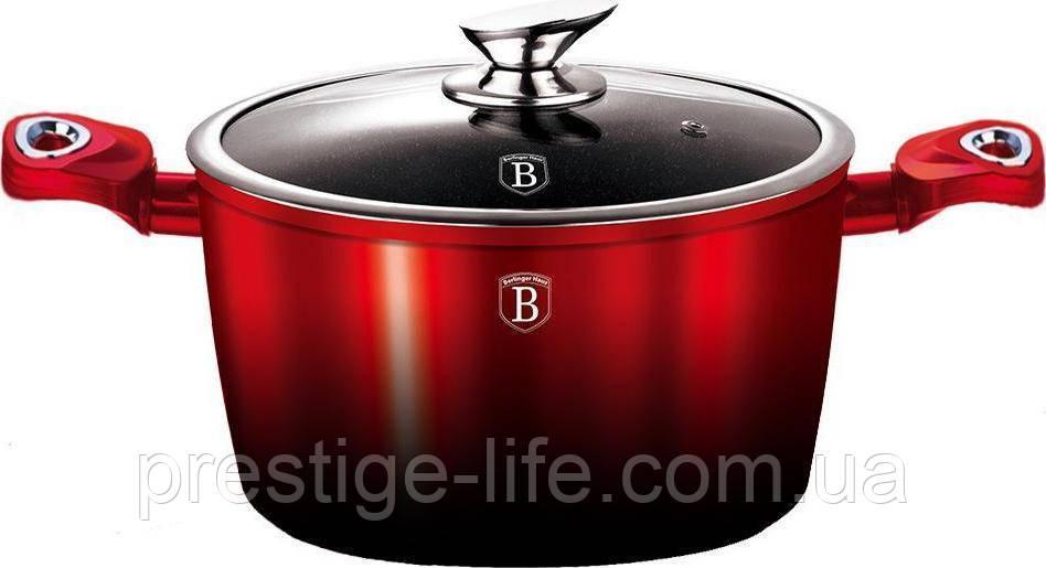 Кастрюля Berlinger Haus Metallic Line BLACK BURGUNDY Edition