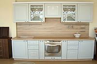 """Кухня готовая , с фасадами (МДФ)  и стёклами """"кружева"""" (3000*2230*600)"""