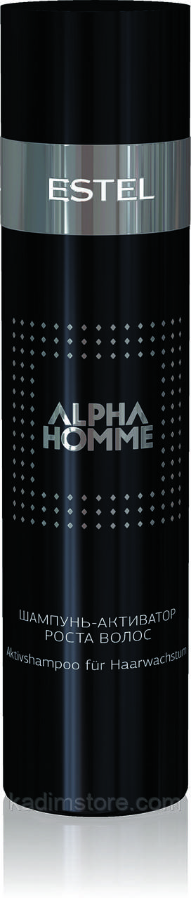 Шампунь-активатор роста волос Estel Professional Alpha Homme Shampoo, 250 мл