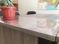 Пленка защитная на стол силиконовая пленка мягкое стекло Премиум неоновый отлив 1мл