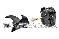 Мотор вентилятора 12W F61-10G + крыльчатка для холодильника Whirlpool 481936170011