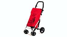 Сумка-візок Carlett господарська на колесах 40 л червона (450-2)