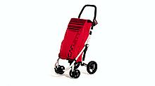 Сумка-візок Carlett Premium господарська на колесах 40 л червона (460-2)