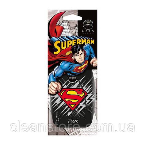 Ароматизатор Aroma Car Hero Superman Black, фото 2
