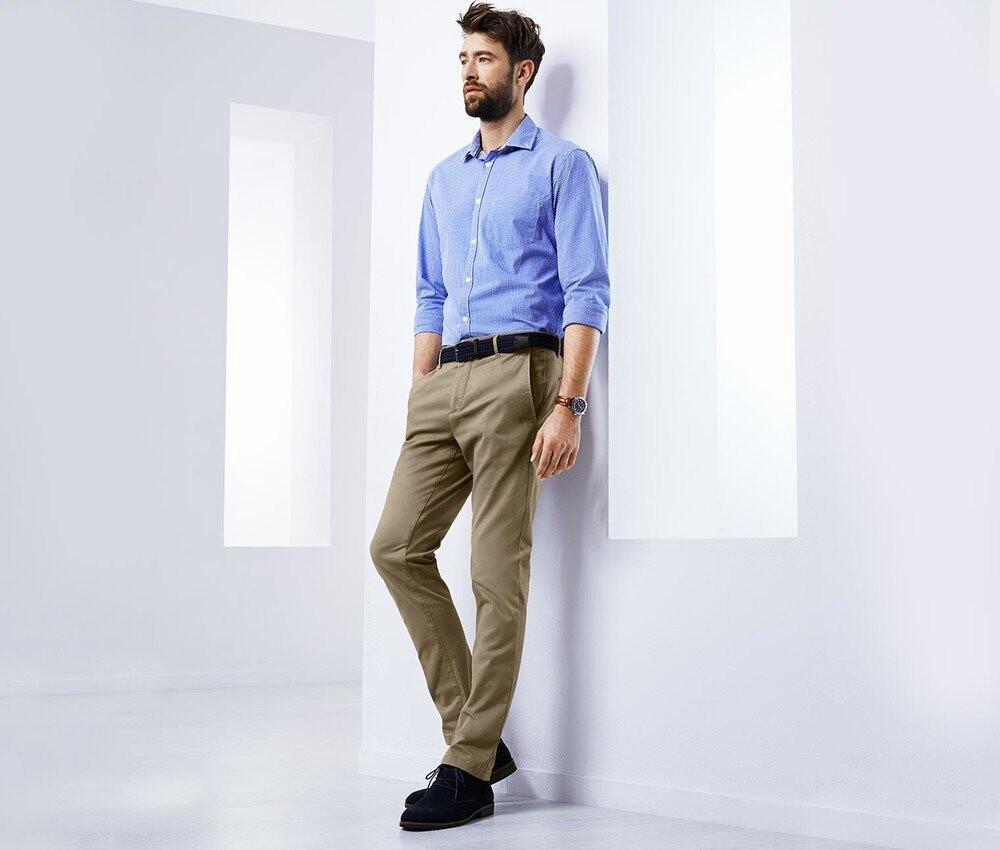 Стильные твил брюки в стиле чино от тсм Tchibo (Чибо), Германия, размер М