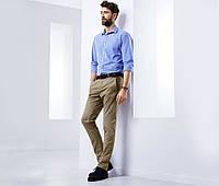 Стильные твил брюки в стиле чино от тсм Tchibo (Чибо), Германия, размер М, фото 1