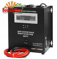 Інвертор автономний LogicPower LPY-C-PSW-1500VA  (1,05 кВт, MPPT)
