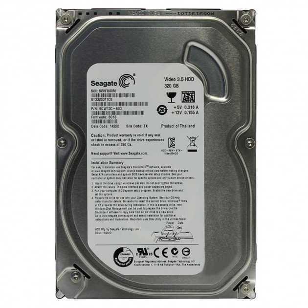"Б/У Жесткий диск 3.5"" 320Gb Seagate ST3320311CS 5900rpm 8MB SATA2"
