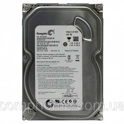 "Б/У Жесткий диск 3.5"" 320Gb Seagate ST3320311CS 5900rpm 8MB SATA2, фото 2"