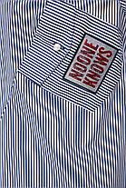 Рубашка женская Стиль черно-белая, фото 3