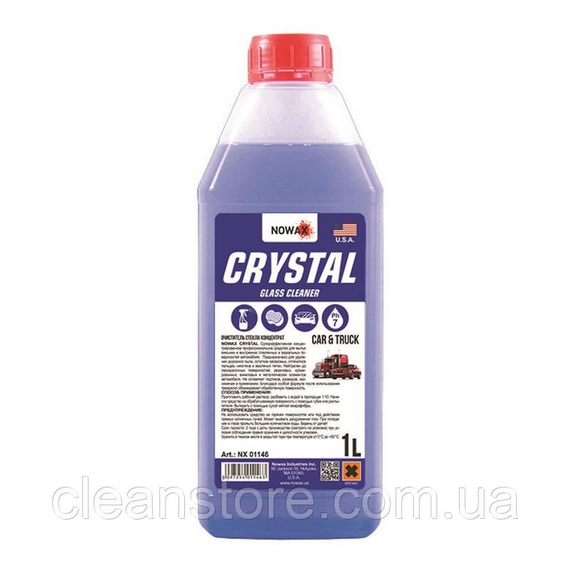 Очиститель стекла NOWAX Crystal 1 л концентрат NX01146