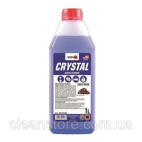 Очиститель стекла NOWAX Crystal 1 л концентрат NX01146, фото 2