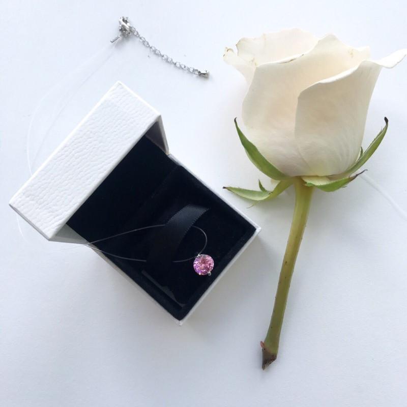 Леска фиона розовый