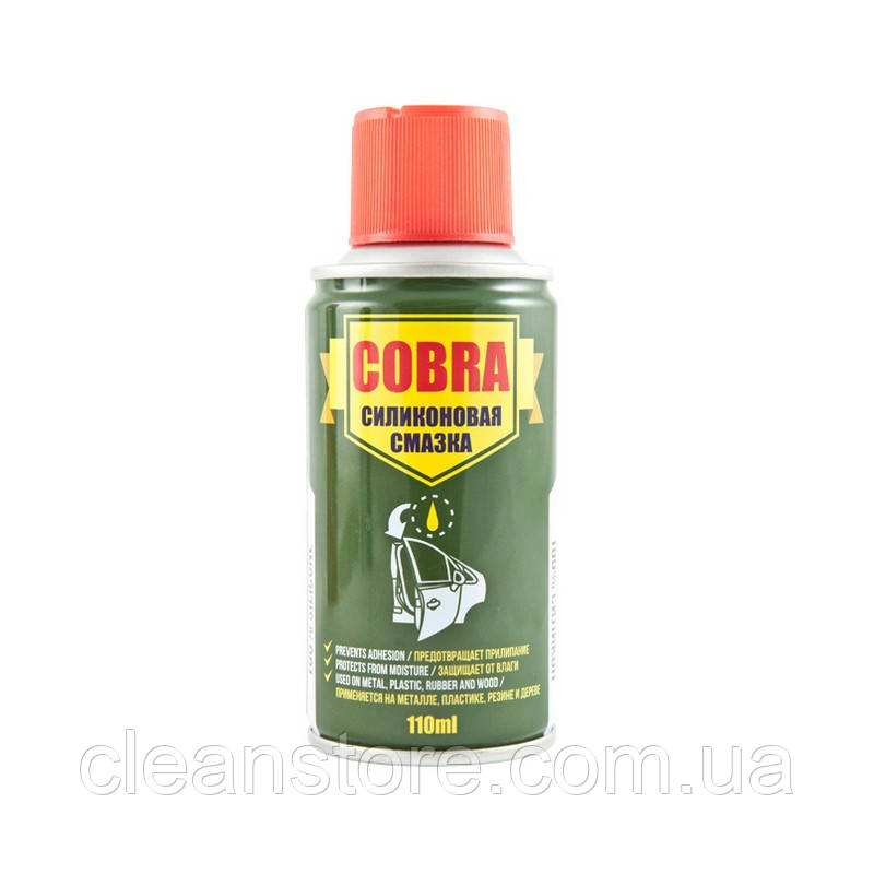 Універсальна силіконова змазка (спрей) Cobra 110мл NX11200