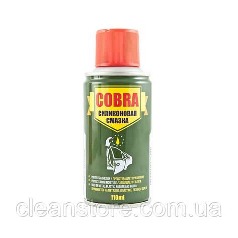 Универсальная силиконовая смазка (спрей) Cobra 110мл NX11200, фото 2