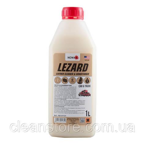 Очиститель и кондиционер кожи LEZARD NOWAX (NX01131) 1л, фото 2