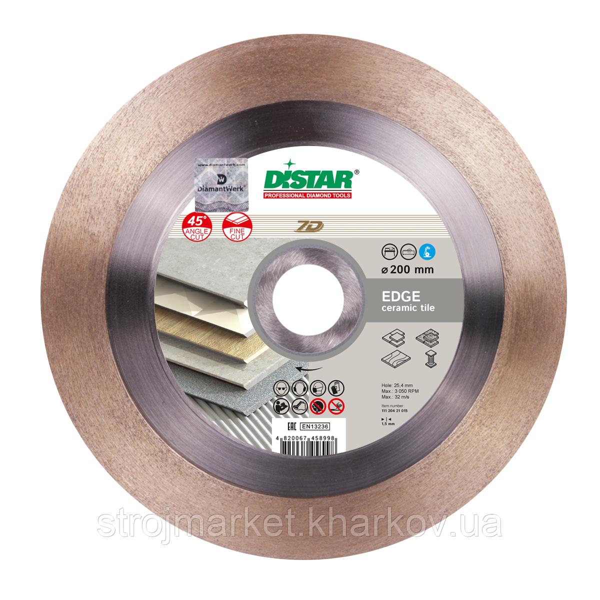 Алмазный отрезной диск EDGE 250мм ТМ  DISTAR