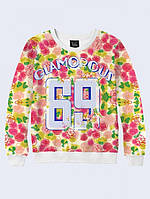 Гламурный молодежный свитер 69
