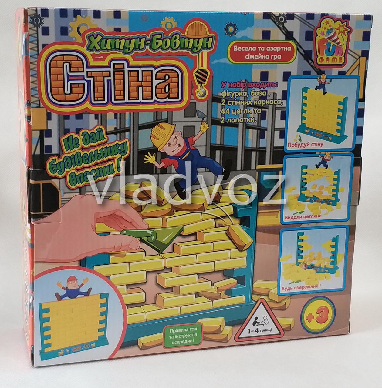 фото упаковки Развлекательная настольная игра стена шатун - балтун
