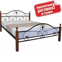 Кровать металлическая 160х200 см Патриция Вуд Melbi