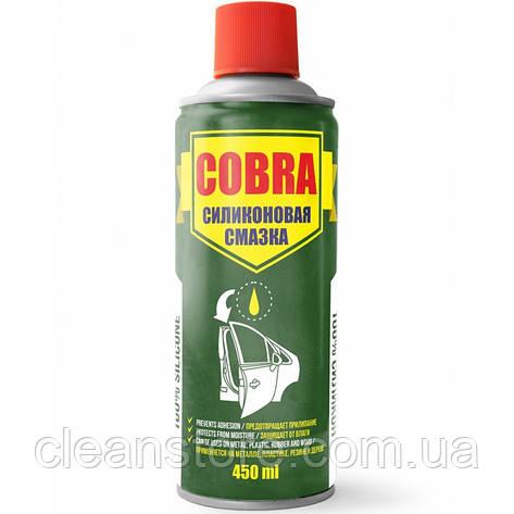 Універсальна силіконова змазка (спрей) Cobra 450мл NX45200, фото 2