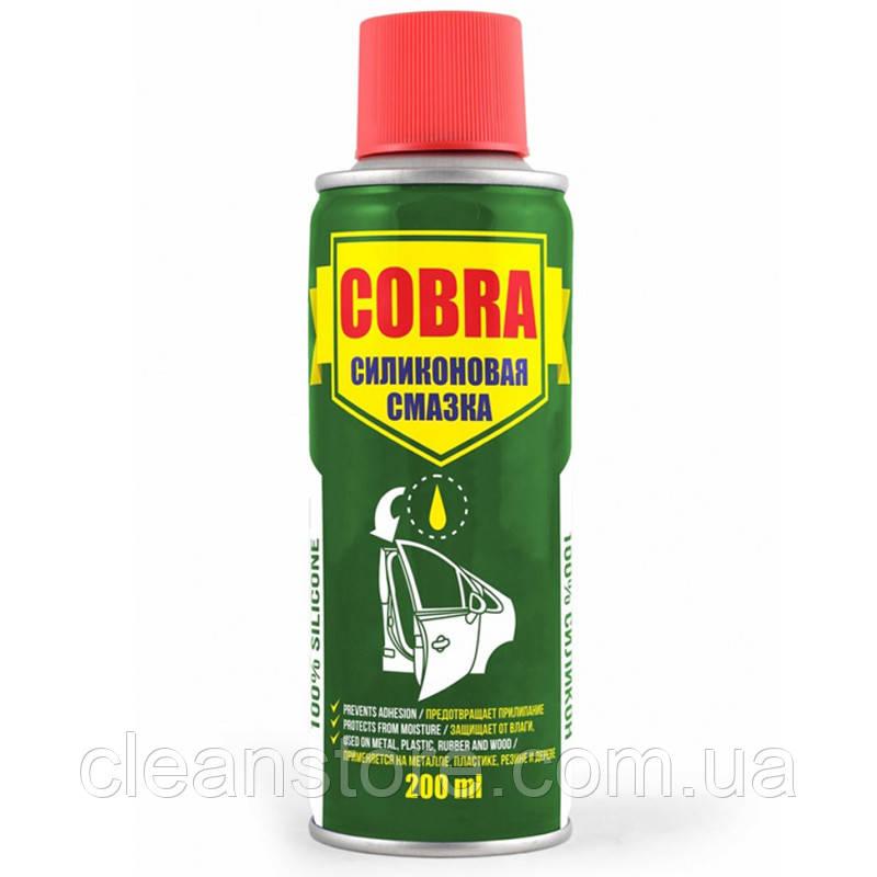 Універсальна силіконова змазка (спрей) Cobra 200мл NX20200