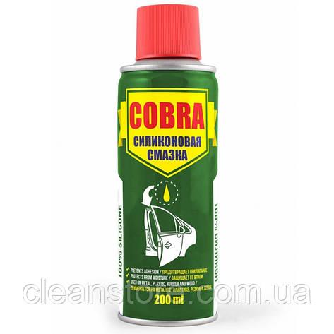 Універсальна силіконова змазка (спрей) Cobra 200мл NX20200, фото 2