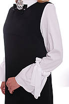 Сарафан женский Санта черный Размеры 50, 52, 54, 56. , фото 2
