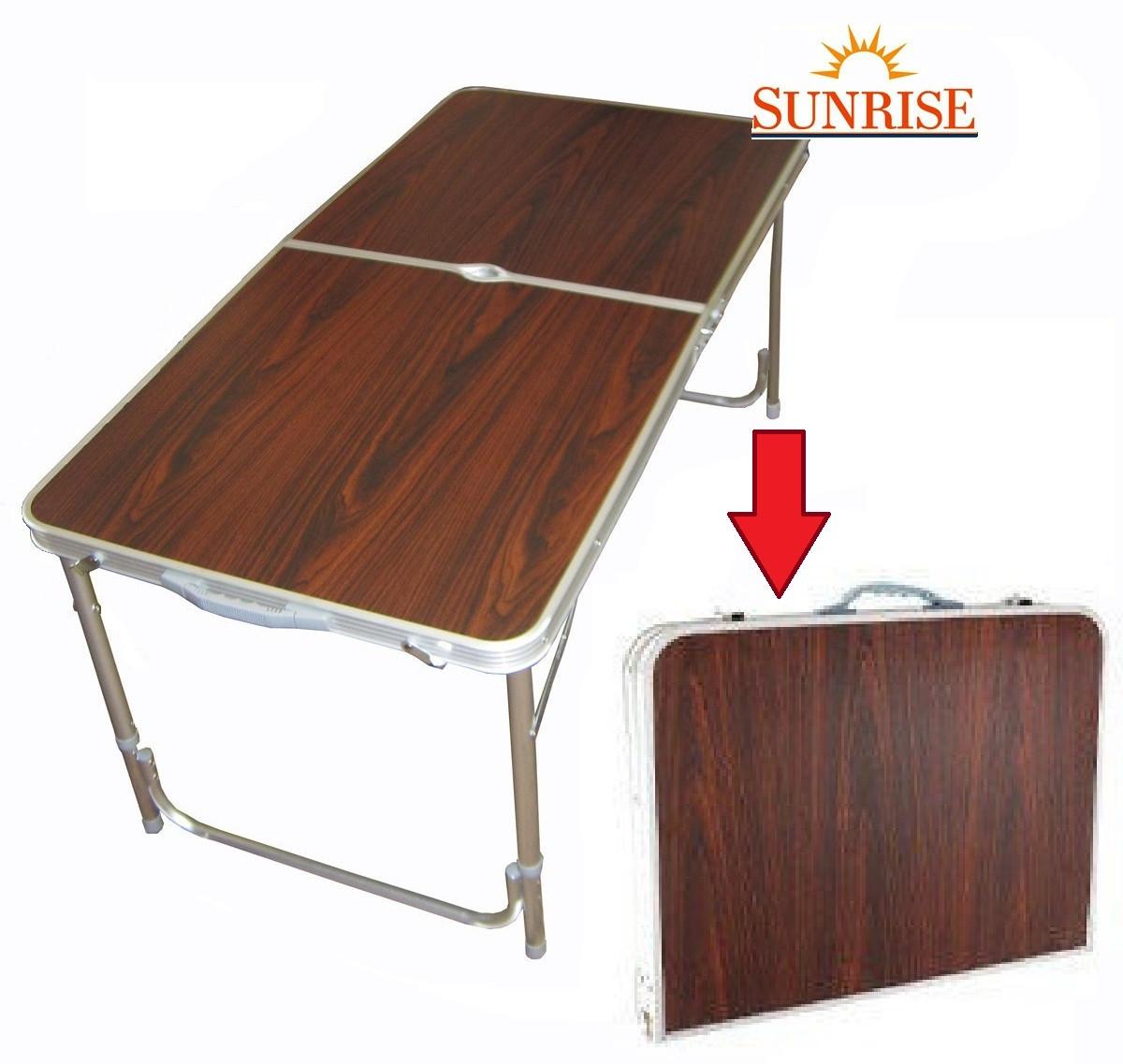 Стол раскладной для пикника 120*60 см Без стульев