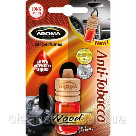 Ароматизатор Aroma Car Wood Anti-Tobacco Антитабак, фото 2