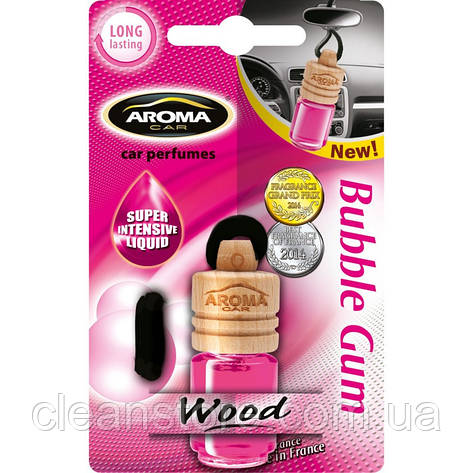 Ароматизатор Aroma Car Wood Bubble Gum, фото 2