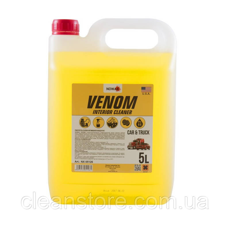 Очисник салону NOWAX VENOM Interior Cleaner NX05126 5 л