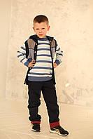 Жилет  на мальчика с капюшоном, фото 1