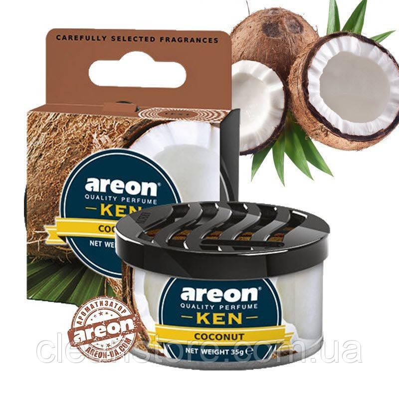 Ароматизатор Areon KEN Coconut Кокос