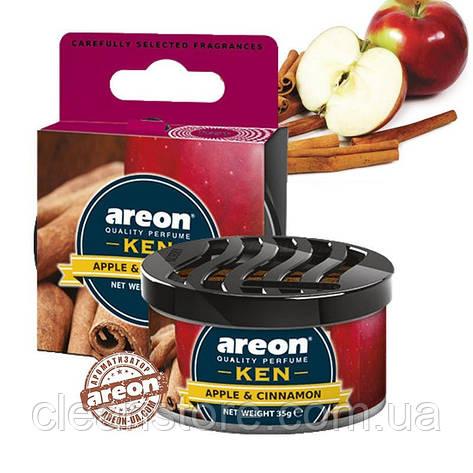 Ароматизатор Areon KEN Apple and Cinnamon Яблоко и корица, фото 2