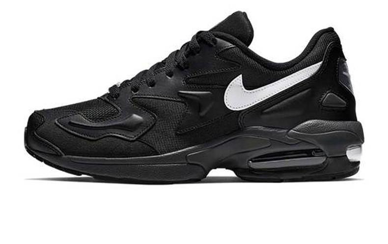 38e38a46 Оригинальные кроссовки Nike Air Max 2 Light Black/White (ART. AO1741 001)