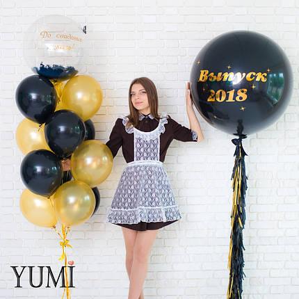 Оформление из воздушных шаров на школьный праздник, фото 2