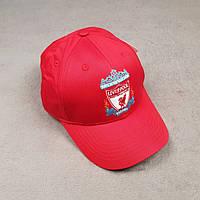 Футбольная кепка Ливерпуль красная