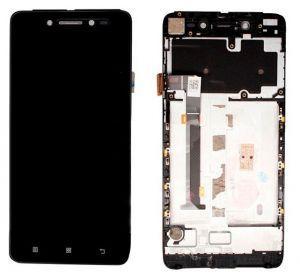 Дисплей с тачскрином Lenovo S90 черный (HQ)