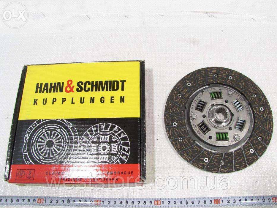 Диск сцепления Ваз 2101 Hahn&Schmidt (S0 0200 B)