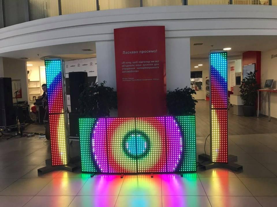 Аренда Led Station for DJ. Аренда светодиодной стойки для Диджея