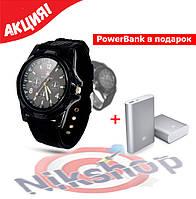Мужские часы в стиле Swiss Army + PowerBank в подарок