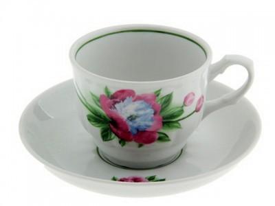 Чайная пара 250 см3 Пион 2С0170/1Ф34 Добруш