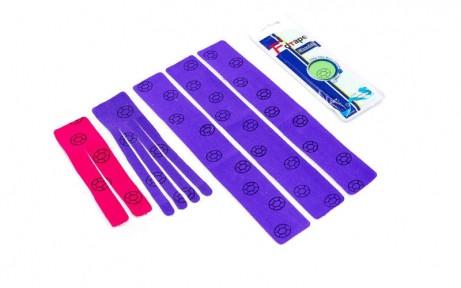 Кинезио тейп преднарезанный SHOULDER (Kinesio tape) еластичний пластир (тип I-30см, Ш-18см, V-15см)