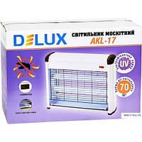 Лампа от комаров Delux AKL-17 2х8 Вт (70кв.м)