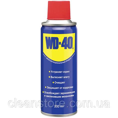 Автомобильная универсальная смазка WD-40 200+50 мл, фото 2