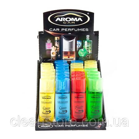 Ароматизатор Aroma Car Pump Spray 50 мл Микс 28 шт, фото 2