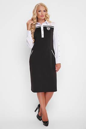 Платье женское Хатия черное, фото 2